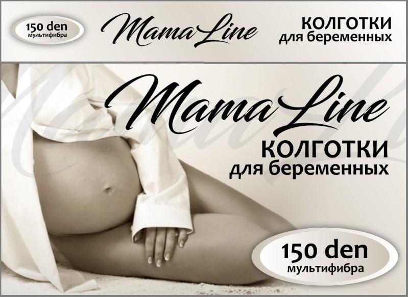 Модель 804 Колготки для беременных MamaLine 150 den мультифибра