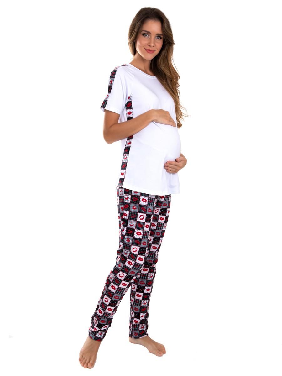 Модель 83.4208-01 Пижама женская для беременных