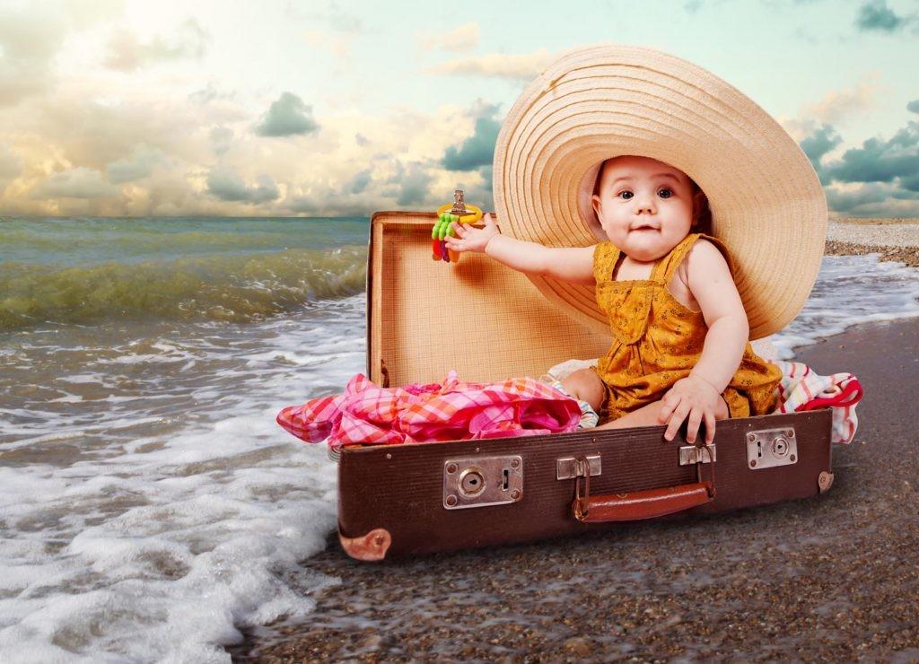 В отпуск с малышом.