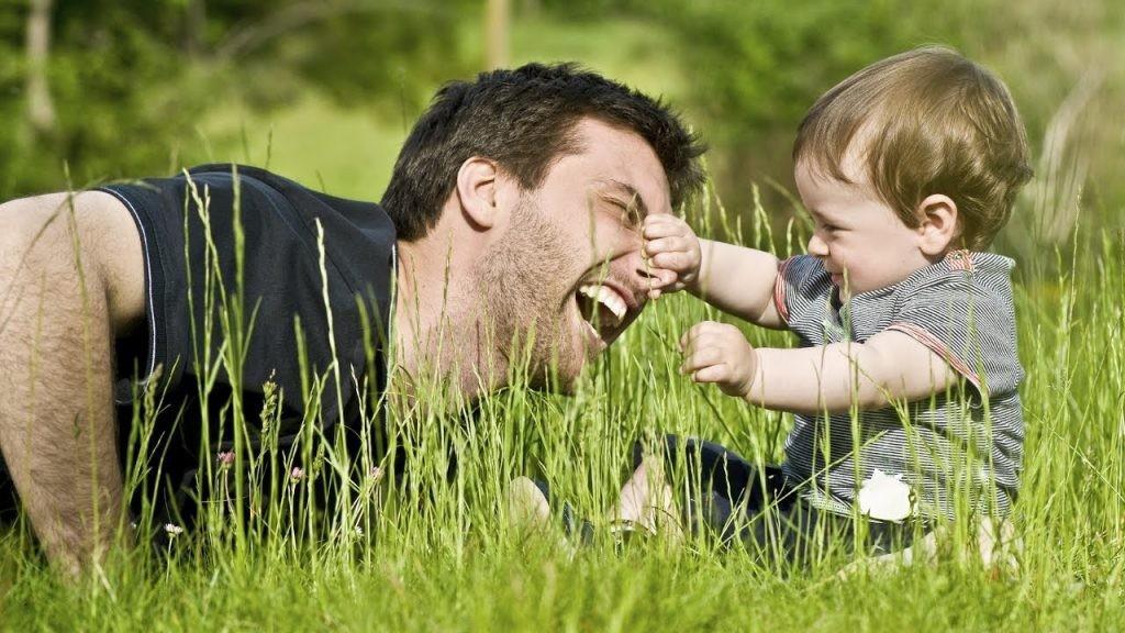 Роль папы в воспитании ребенка.