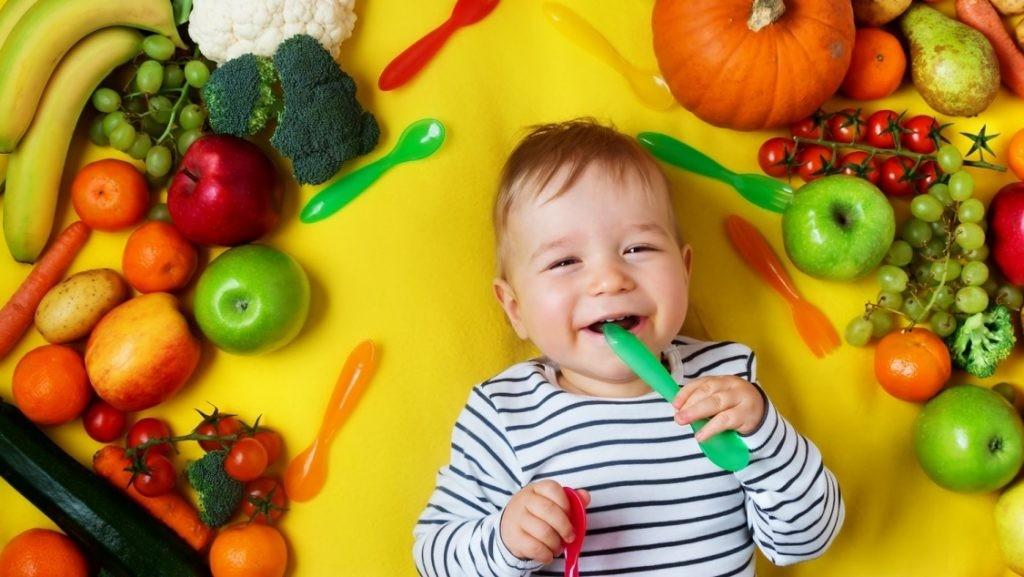 Кормление ребенка от 1 до 3